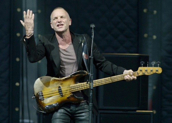 Sting In Concert - San Francisco, CA